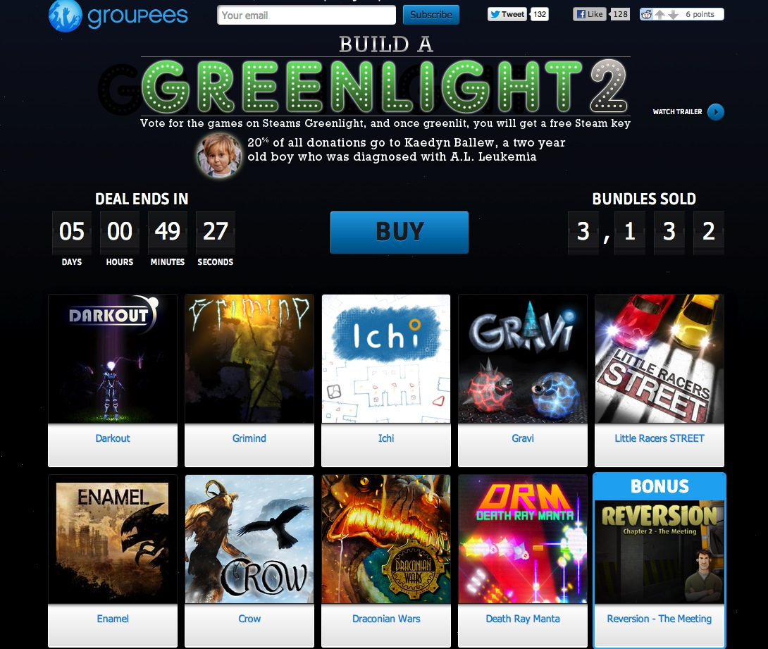 Groupees – Build a Greenlight 2