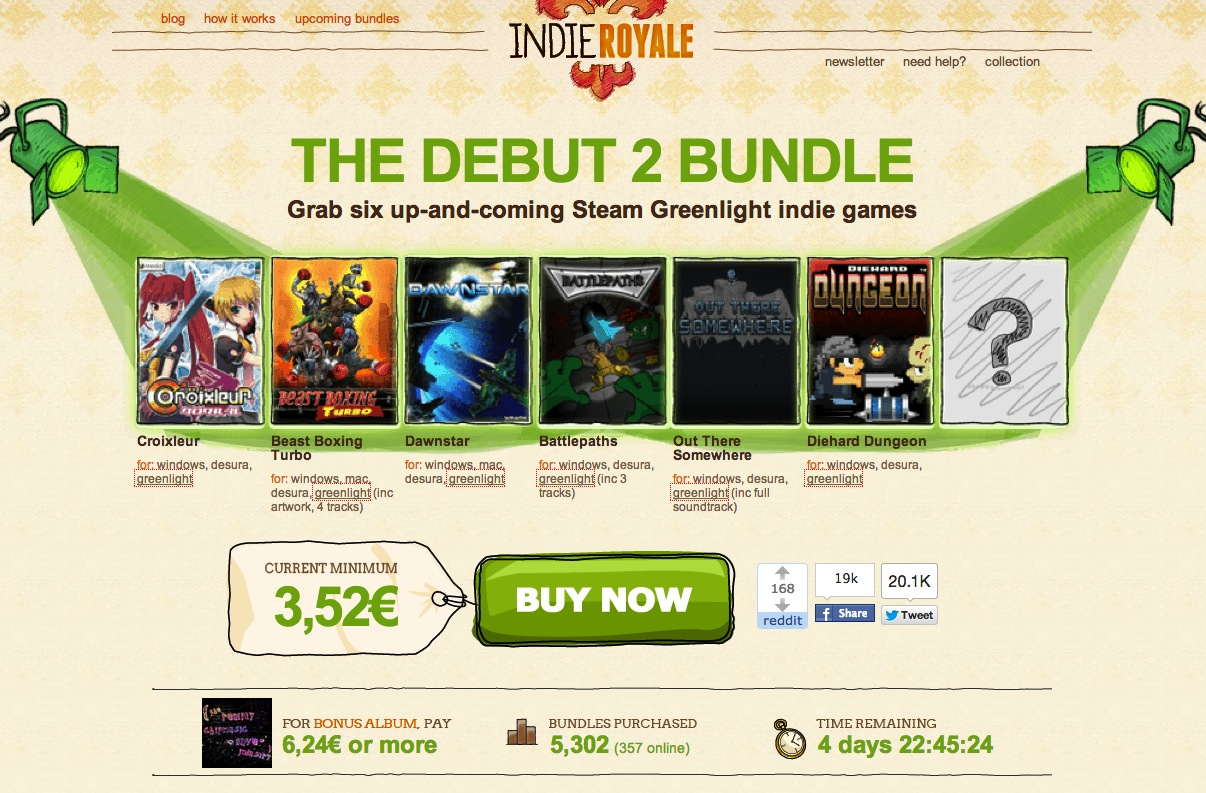 Indie Royale – The Debut 2 Bundle