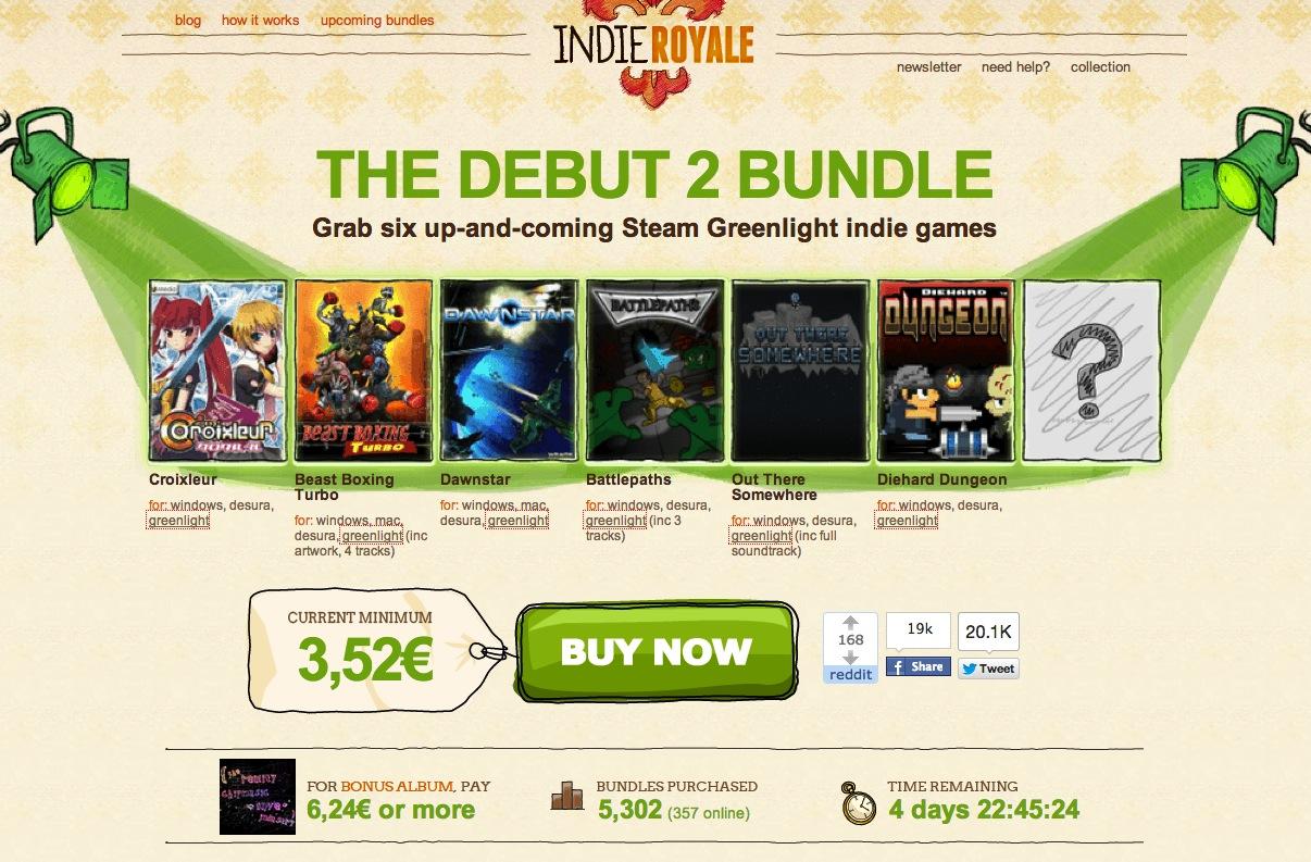 Indie Royale – The Debut 2 Bundle