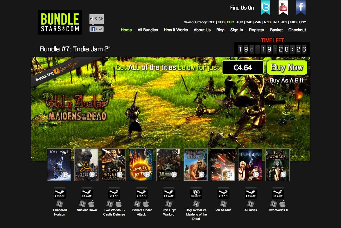 Bundle Stars 7 – Indie Jam 2