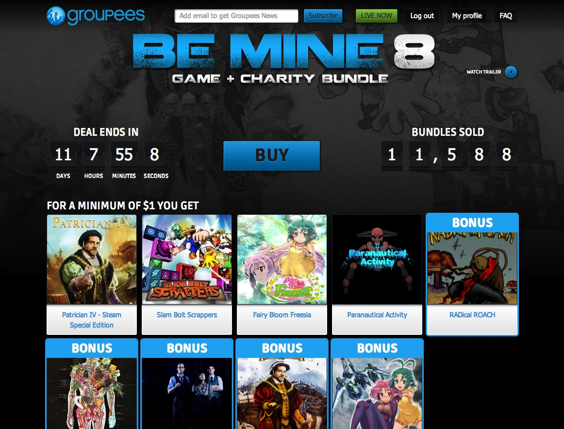 Groupees – Be Mine 8