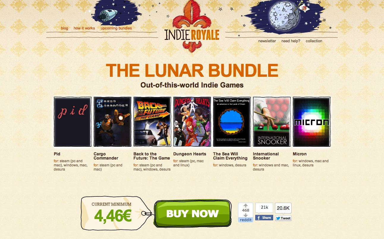 Indie Royale – The Lunar Bundle (suite)