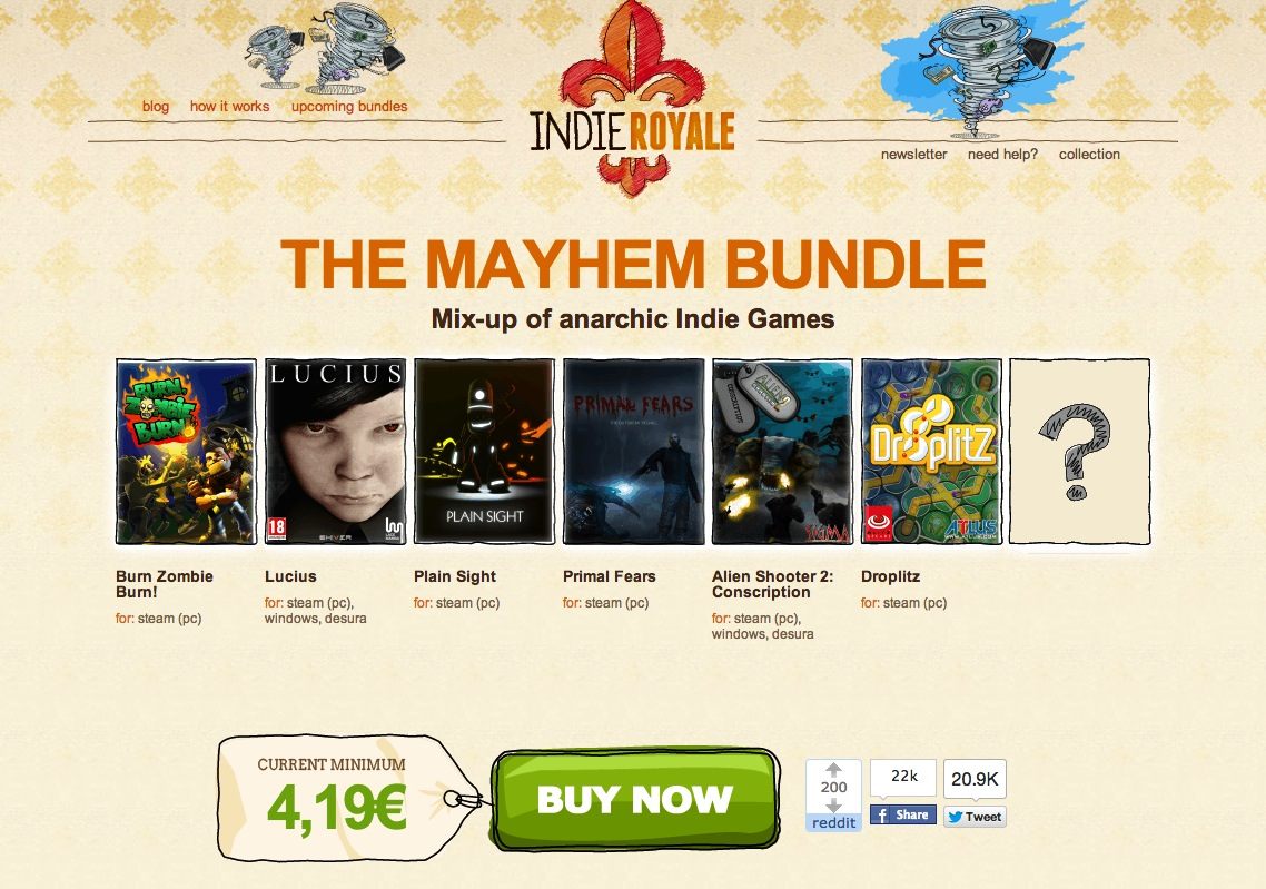 Indie Royale – The Mayhem Bundle