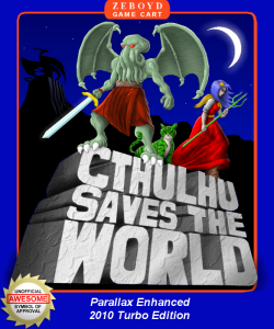 Cthulhu Saves the World - boxart