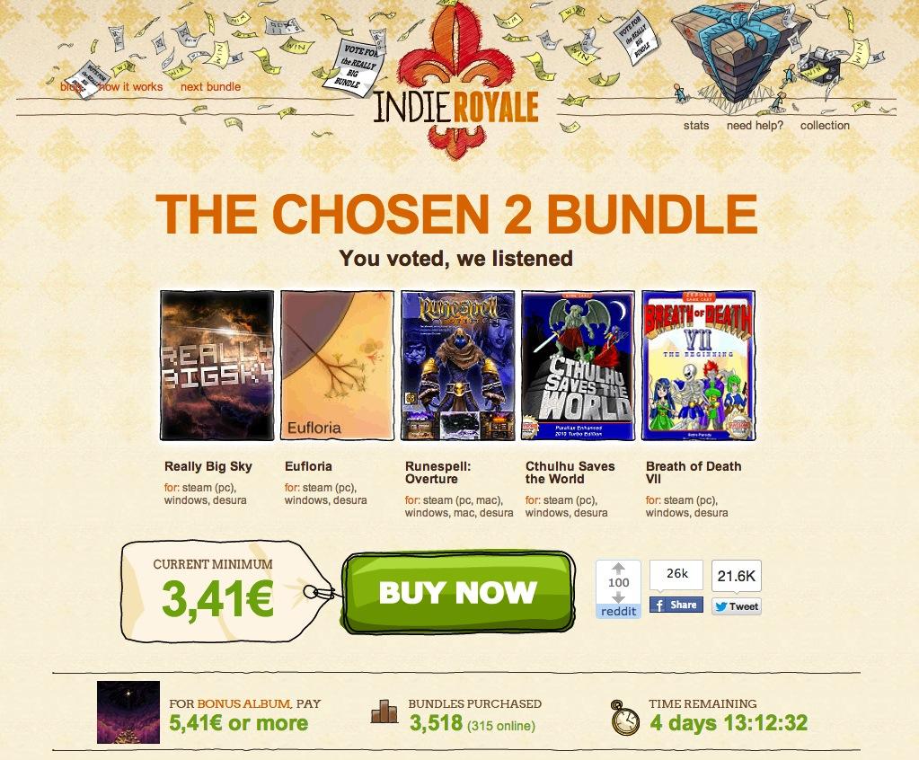 Indie Royale – The Chosen 2 Bundle