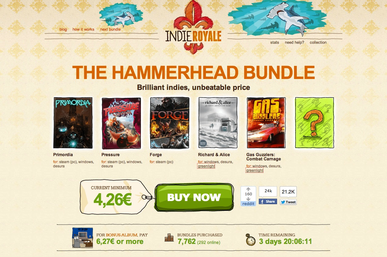 Indie Royale – The Hammerhead Bundle
