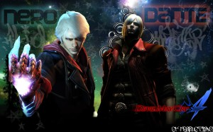 Devil-May-Cry-4 Nero & Dante
