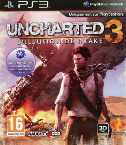 Uncharted 3 - L'Illusion de Drake -jaquette