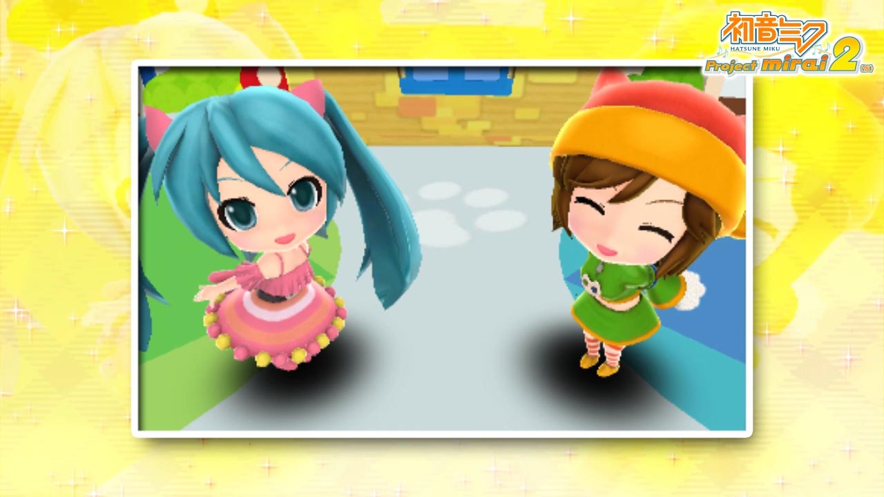Hatsune Miku and Future Stars : Project Mirai 2