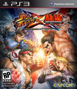 Street Fighter X Tekken ps3 box