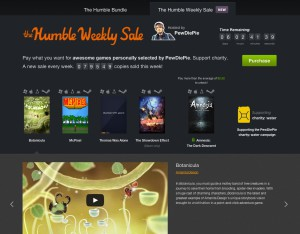 The Humble Weekly Sale - aout 2013