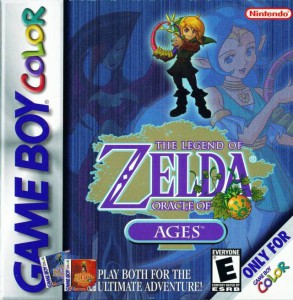 The Legend of Zelda - Oracle of Ages Box