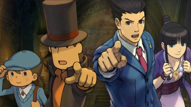 Professeur Layton vs. Ace Attorney
