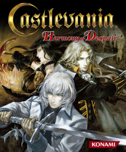 Castlevania - Harmony of Despair - cover