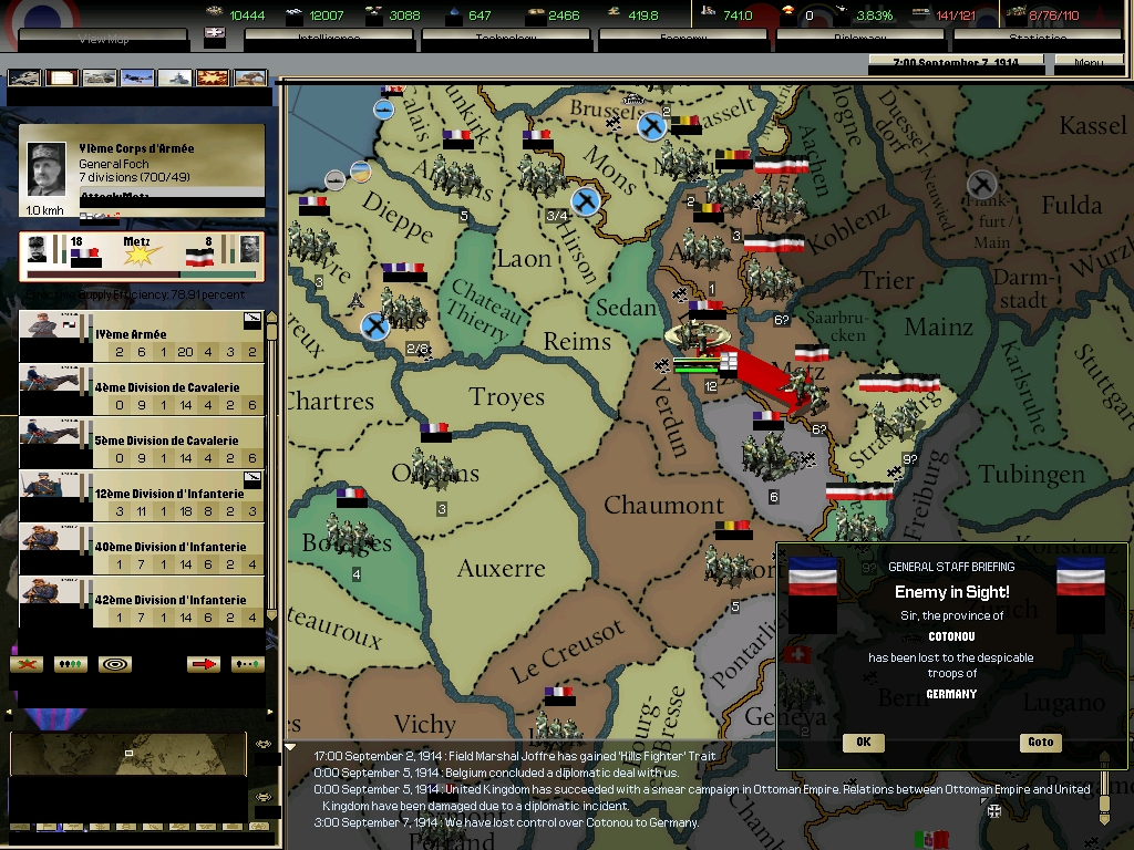 Darkest Hour : A Hearts of Iron Game