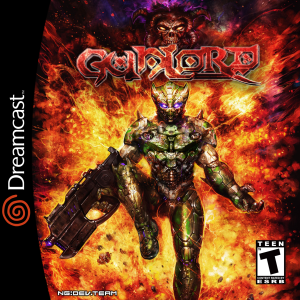 Gunlord dreamcast cover