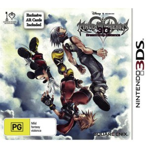 Kingdom Hearts 3D - Dream Drop Distance - cover