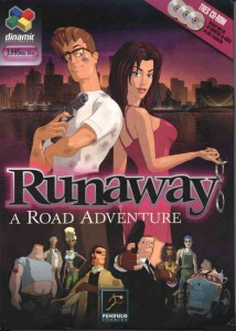 Runaway - A Road Adventure - Box