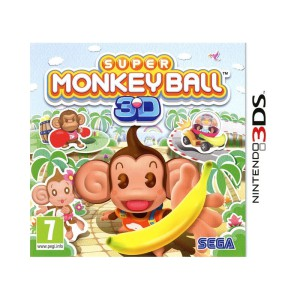 Super Monkey Ball 3D - cover