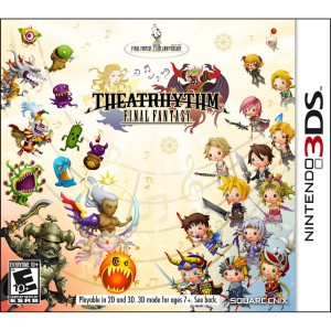 Theatrhythm Final Fantasy - cover