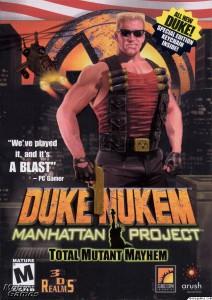 Duke Nukem - Manhattan Project - cover