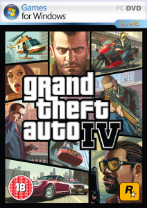 Grand Theft Auto IV - cover
