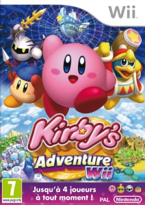 Kirby's Adventure Wii - cover
