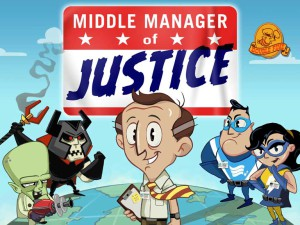 Middle Manager of Justice - cover