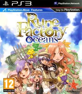 Rune Factory Oceans - cover