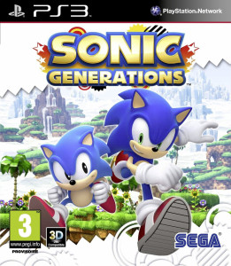 Sonic Generations - cover
