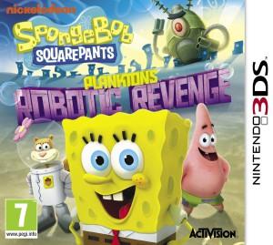 SpongeBob SquarePants - Plankton's Robotic Revenge - cover