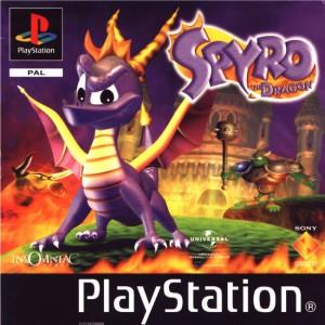 Spyro the Dragon - cover