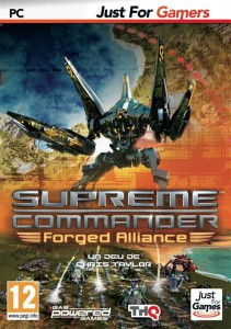 Supreme Commander - Forged Alliance - cover