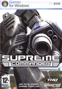 Supreme Commander - cover