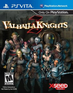 Valhalla Knights 3 - cover