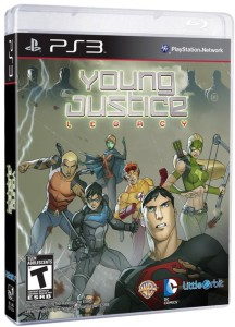 Young Justice - Legacy - cover