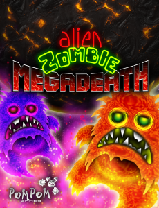 Alien Zombie Megadeath - cover