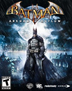 Batman - Arkham Asylum - cover