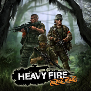 Heavy Fire - Black Arms - logo