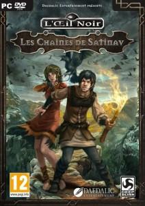 L'Oeil Noir - Les Chaînes de Satinav - cover