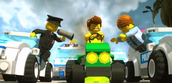 лего полиция ловит играть бесплатно