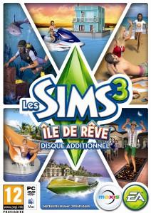 Les Sims 3 - Île de Rêve - cover