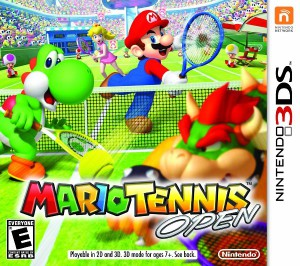 Mario Tennis Open - cover