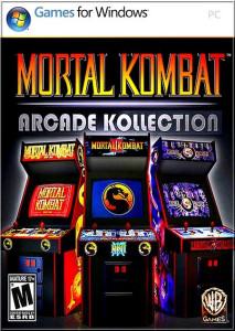 Mortal Kombat Arcade Kollection - cover