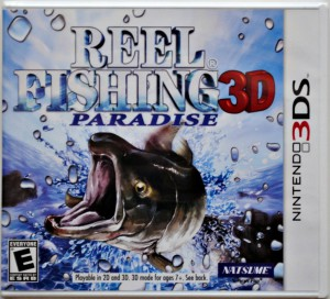Reel Fishing Paradise 3D - cover