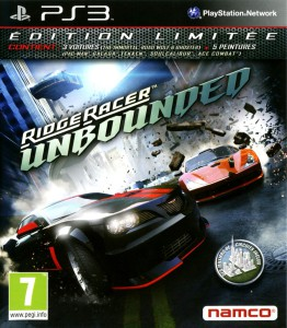 Ridge Racer Unbounded - cover