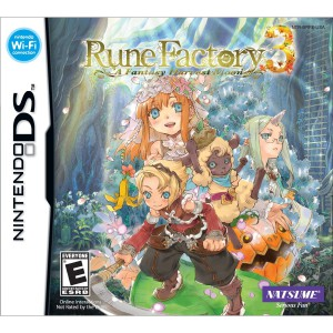 Rune Factory 3 - A Fantasy Harvest Moon - cover