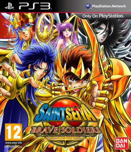 Saint Seiya - Brave Soldiers - cover