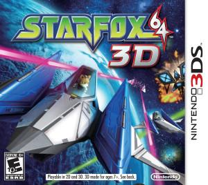 Star Fox 64 3D - cover
