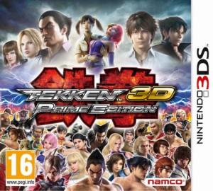 Tekken 3D - Prime Edition - cover